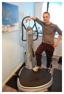 Josef Williams personal trainer with Power Plate Swansea